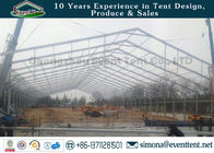 One Stop Outdoor Warehouse Tent Transparent With PVC Coated Polyester Fabric