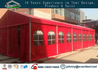 China Red color 10x40m aluminum frame wedding party tent marquee party tent factory