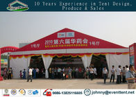 China Customized 10x30m Waterproof White And Red Large Aluminum Outdoor Event Tents factory