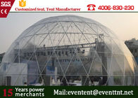 China Mini Beach Dome Tent PVC Cover 18m Diameter / Large Outdoor Canopy Tent  For Wedding factory