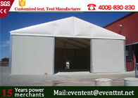 China UV resistant PVC Roof  Wedding Tent Fire Retardant , Large Frame Tent For Outdoor camping factory