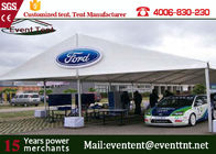 China Custom 30 X 50 Frame Tent White , Water Resistant Tent  For Auto Show Exhibition company
