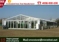 China Clear Roof Party Tent For 300 People , Transparent Wedding Tent With PVC Fabric company