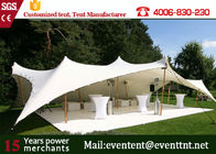 China Wedding Folding Heavy Duty Shelter Canopy Outdoor Transparent With Glass Fire Door factory