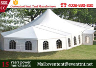 Movable Workshop High Peak Tent Steel Frame Material Outdoor Shade Canopy