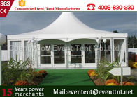 China 8m , 9m , 10m Pagoda tent Outdoor camping Tent Hotel Building Mobile House For Catering party factory