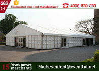 ABS Hard Wall A Frame Tent Customized 12 X 12m  Business Promotion European Style