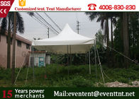 China 30m Big White Freeform Stretch Tent With Blocked - Out Sunshine Roof Cover company