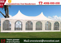 Adjustable Heavy Duty Tents White , High Peak Pole Tent For Large event party, hotel