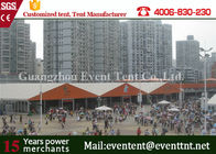 China Custom 30 x 50 Frame Tent For Auto Show , Big Event Tent With ABS Hard Walls factory