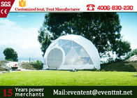 China Guangzhou Customized Tent Manufacturer Geodesic Dome Tents dome house for Outdoor camping family event factory