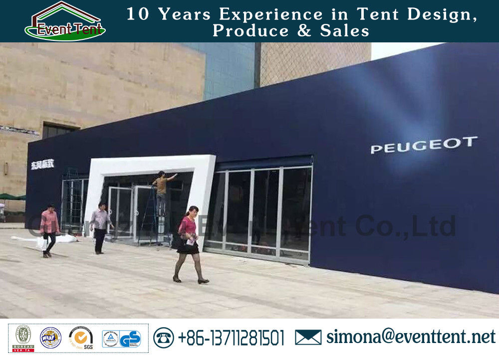 20 X 30 Meters Second Hand Party Tent With Glass Doors / Air