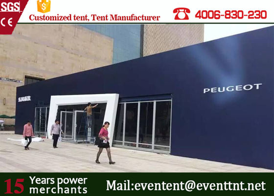 China Strong Outdoor auto exhibition Marquee Fire Retardant, Large Party Tent on sales factory