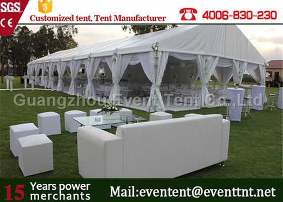 China Luxury Wedding Party Tent event marquee With Hard ABS wall  / Glass Wall Easy Assemble factory