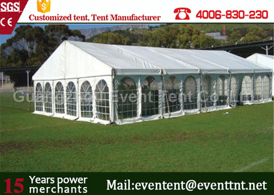 China Removable deluxe Wedding Party Tent Heavy Duty Garden Gazebo With Aluminum Alloy factory