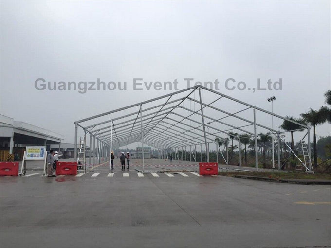 Prefab A Frame Tent Large Volume Logo Printing for Car Storage