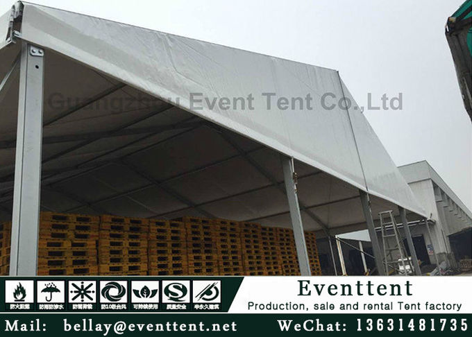 15*40 meters aluminum A frame tent for 400 people luxury event wedding