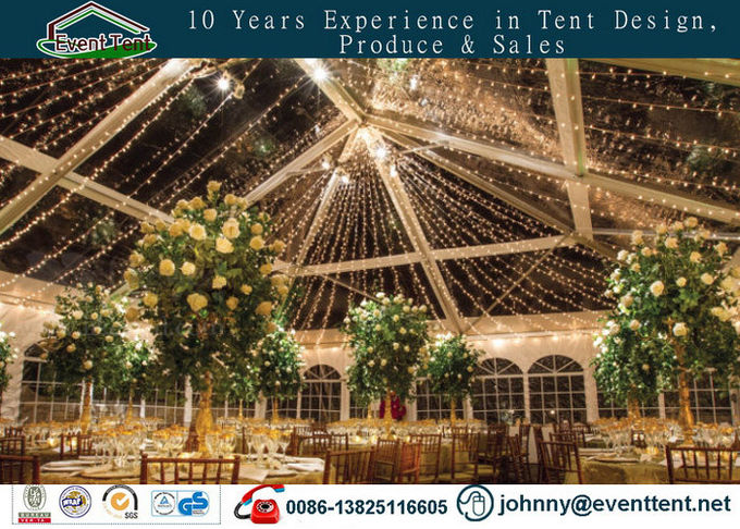 repeatable install & disassemble 120km/h wind load wedding party tent