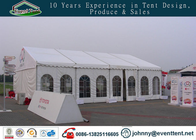 500 People Aluminum Frame Outdoor Large Event Tent For Car Trade Show SGS