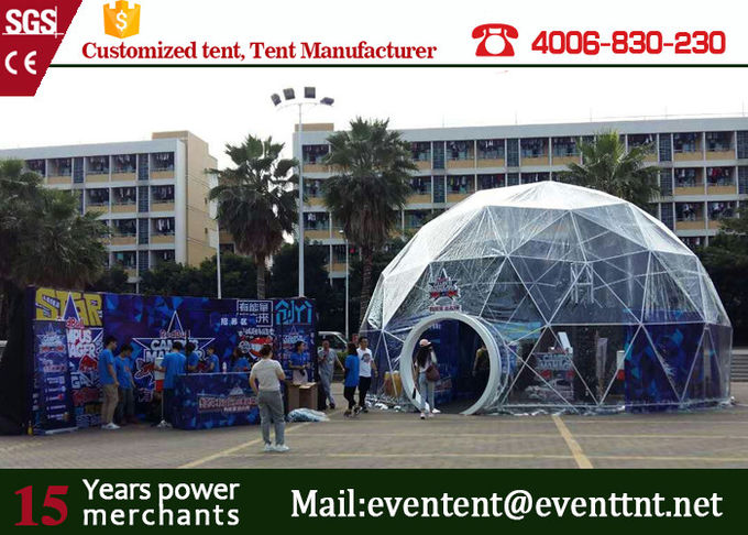 super large 10m diameter Geodesic Dome Tent for exhibition events